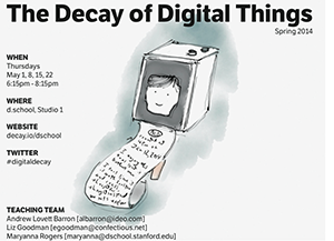 Poster for Decay of Digital Things
